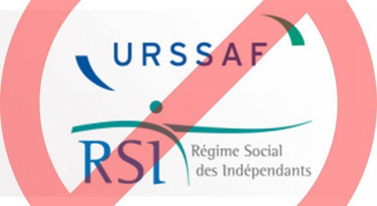 Logo du RSI sens interdit